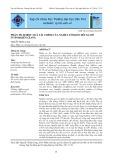 Phân tích hiệu quả tài chính của nghề lưới kéo đôi xa bờ ở tỉnh Kiên Giang