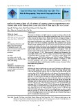 Khảo sát sinh lượng và tác động của rong xanh (Cladophoraceae) trong đầm nuôi tôm quảng canh cải tiến ở tỉnh Bạc Liêu và Cà Mau