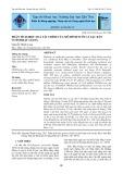 Phân tích hiệu quả tài chính của mô hình nuôi cá sặc rằn ở tỉnh Hậu Giang