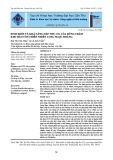 Sinh khối và khả năng hấp thụ CO2 của rừng tràm Khu bảo tồn thiên nhiên Lung Ngọc Hoàng