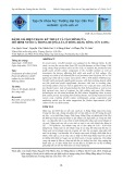Đánh giá hiện trạng kỹ thuật và tài chính của mô hình nuôi cá trong ruộng lúa ở Đồng bằng sông Cửu Long