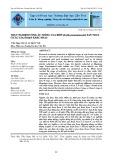 Thực nghiệm ương ấu trùng cua biển (Scylla paramamosain) san thưa ở các giai đoạn khác nhau
