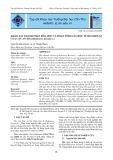 Khảo sát thành phần hóa học và hoạt tính gây độc tế bào HEP-G2  của cây An Xoa