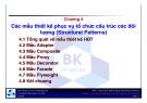 Bài giảng môn Phân tích & thiết kế phần mềm hướng đối tượng: Chương 4 - TS. Nguyễn Văn Hiệp