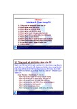 Bài giảng môn Phân tích & thiết kế phần mềm hướng đối tượng: Chương 3 - TS. Nguyễn Văn Hiệp