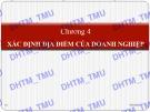 Bài giảng Quản trị sản xuất: Chương 4 - Đại học Thương mại