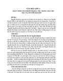Dàn ý phân tích hình ảnh mùa thu trong 3 bài thơ Thu của Nguyễn Khuyến