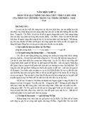 Phân tích quá trình tha hóa thức tỉnh và hôi sinh của nhân vật Chí Phèo trong tác phẩm Chí Phèo - Nam Cao
