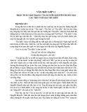 Phân tích tâm trạng của Nguyễn Khuyến trong hai câu thơ cuối bài Thu Điếu