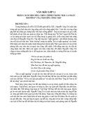 Nhân cách nhà nho chân chính trong Bài ca ngất ngưởng của Nguyễn Công Trứ