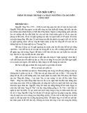 Phân tích bài thơ Bài ca Ngất Ngưởng của Nguyễn Công Trứ