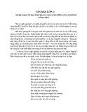 Nghị luận về bài thơ Bài ca Ngất Ngưởng của Nguyễn Công Trứ