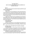 Dàn ý chi tiết về bài thơ Bài ca ngất ngưởng của Nguyễn Công Trứ