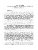 Cảm nhận về nhân vật Chí Phèo trong truyện ngắn Chí Phèo của Nam Cao