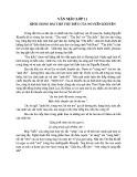 Bình giảng bài thơ Thu Điếu của Nguyễn Khuyến