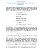 Phân tích đoạn đầu bài thơ Đàn ghi-ta của Lorca Thanh Thảo
