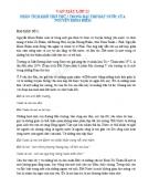 Phân tích khổ thơ thứ 2 trong bài thơ Đất Nước của Nguyễn Khoa Điềm