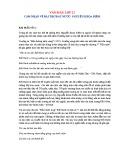 Cảm nhận về bài thơ Đất nước - Nguyễn Khoa Điềm