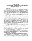 Phân tích đoạn trích Người cầm quyền khôi phục uy quyền của V.Huy-Gô