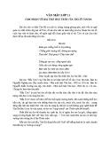Cảm nhận về bài thơ Hầu Trời của thi sĩ Tản Đà