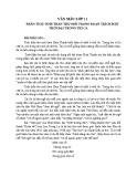 Phân tích tinh thần thơ mới trong Một Thời Đại Trong Thi Ca của Hoài Thanh