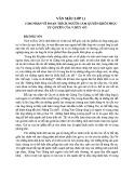 Cảm nhận về đoạn trích Người cầm quyền khôi phục uy quyền của V.Huy-Gô