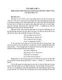 Bình giảng khổ thơ đầu trong bài thơ Đây thôn Vĩ dạ của Hàn Mặc Tử