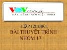 Bài giảng Ngữ văn lớp 12 - Bài: Tác giả Nguyễn Minh Châu và Nguyễn Trung Thành