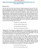 Bình giảng khổ thơ đề từ trong bài Tiếng hát con tàu của Chế Lan Viên