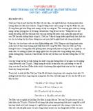 Phân tích đặc sắc về nghệ thuật bài thơ Tiếng hát con tàu - Chế Lan Viên