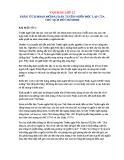 Phân tích đoạn mở đầu bản Tuyên ngôn độc lập của Hồ Chí Minh