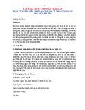 Phân tích diễn biến tâm trạng nhân vật Tràng trong Vợ nhặt của nhà văn  Kim Lân