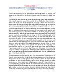 Phân tích những nét độc đáo trong truyện ngắn Thuốc của Lỗ Tấn