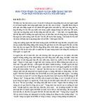 Phân tích vẻ đẹp của nhân vật bà Hiền trong truyện ngắn Một người Hà Nội của Nguyễn Khải