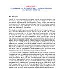 Cảm nhận về tác phẩm Những đứa con trong gia đình của nhà văn Nguyễn Thi
