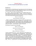 Bài phân tích khổ 3 bài thơ Việt Bắc của Tố Hữu