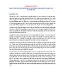 Phân tích truyện Những đứa con trong gia đình của nhà văn Nguyễn Thi
