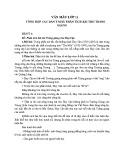 Dàn ý chi tiết phân tích bài thơ Tràng Giang của Huy Cận
