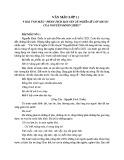 Phân tích bài Văn tế nghĩa sĩ Cần Giuộc của Nguyễn Đình Chiểu