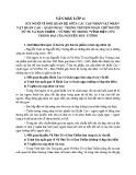 Suy nghĩ về mối quan hệ giữa các cặp nhân vật Huấn Cao – Quản Ngục trong truyện ngắn Chữ người tử tù và Đan Thiềm – Vũ Như Tô trong Vĩnh biệt cửu trùng đài của Nguyễn Huy Tưởng