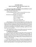 Phân tích khổ đầu trong bài thơ Tràng Giang của Huy Cận