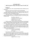 Phân tích khổ cuối trong bài thơ Tràng Giang của Huy Cận