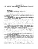 Các xung đôt kịch trong đoạn trích Vĩnh biệt cửu trùng đài