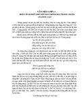 Phân tích khổ thứ 2 trong bài thơ Tràng Giang của Huy Cận