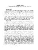 Bình giảng bài thơ Tràng Giang của Huy Cận