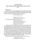 Phân tích 2 khổ cuối trong bài thơ Tràng Giang của Huy Cận