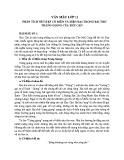 Phân tích nét đẹp cổ điển và hiện đại trong bài thơ Tràng Giang của Huy Cận