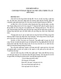 Cảm nhận đoạn trích Vào phủ chúa Trịnh của Lê Hữu Trác