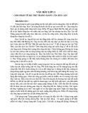 Cảm nhận về bài thơ Tràng Giang