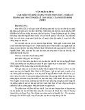 Cảm nhận về hình tượng nông dân nghĩa sĩ trong bài Văn Tế Nghĩa Sĩ Cần Giuộc của Nguyễn Đình Chiểu